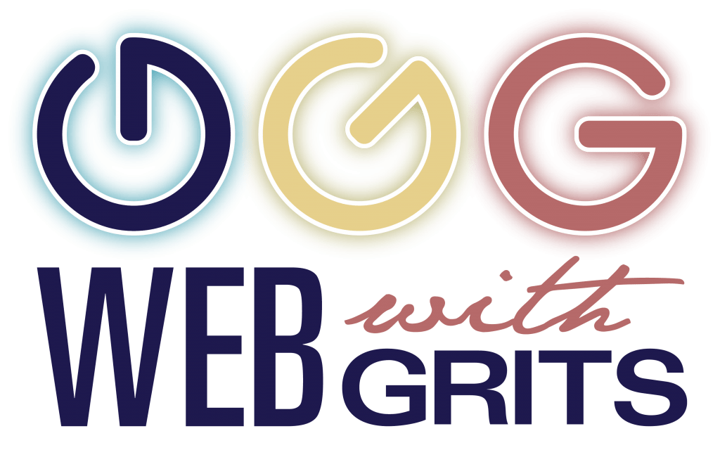 Main logo for Web with Grits