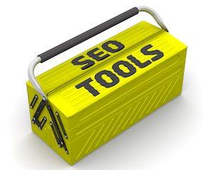 Toolbox labeled SEO Tools