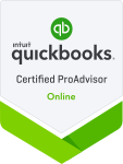 Digital badge for QuickBooks Online Proadvisor