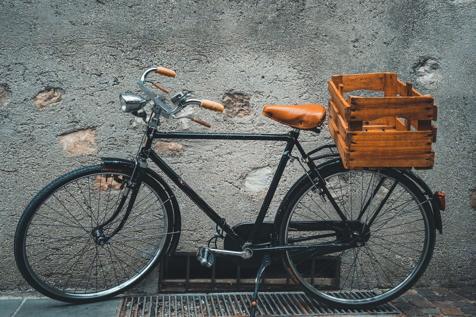 Photo of bicycle with basket